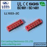 빨간 IDC 소켓 마이크로 일치 연결관