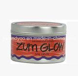 Bougie parfumée normale de soja/bougie fabriquée à la main en étain