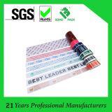 Impresión de la cinta adhesiva de la cinta adhesiva de BOPP impreso con el logotipo de la compañía