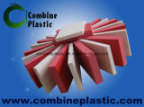 ورقة حمراء اللون PVC رغوة للدعاية والإعلان والديكور