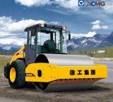 La marca de fábrica Xs122 12ton de XCMG escoge el peso del tambor del rodillo de camino