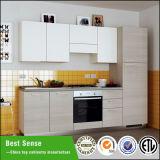 Hölzerne Korn-Melamin-Ende-Laminat Kraftstoffregler-Küche-Möbel