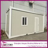 Casa modular estable fácil del envase de la estructura de acero de Opearation