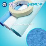 青いクレープ紙