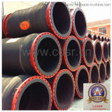 Dredging를 위한 Dn450 Flanged Rubber Discharge Hose