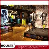 Sportkleidung-System-Bildschirmanzeige, Sport-Abnützung-Einzelverkaufs-Bildschirmanzeige von der Fabrik