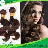 Extensão brasileira do cabelo humano de Remy da onda do cabelo de Ombre