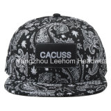 Snapback 시대 편평한 테두리 Fiftted 새로운 인쇄 모자