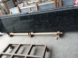 カウンタートップの壁のフロアーリングのためのエメラルドの真珠の花こう岩の平板