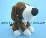 brinquedo animal do cão do luxuoso de 20cm