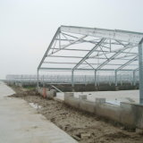 Poultry prefabricado Chicken House con Auto Feeding y Drinking Equipments