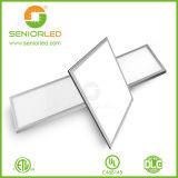 Lámpara cuadrada plana del techo del panel LED de la lista de la UL Dlc