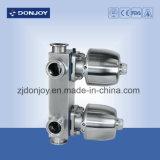 válvula de diafragma 316L pneumática com atuadores dos Ss (extremidades da braçadeira)