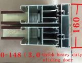Großartige Aluminiumschiebetür (BHA-DS08) Holz-Beenden