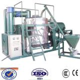 Waste Black Engine Oil Recycling System / Black Engine Oil Regeneration Machinery