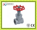 중국 공장은 ASME B1.20.1의 끝 200wog 게이트 밸브를 조였다