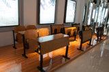 Het vouwbare het Schrijven Kantoormeubilair van de Stoel van het Onderwijs van de Opleiding van de Tablet