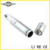 Lanterna elétrica de alumínio recarregável da identificação 3W do jade (NK-002)