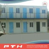 Maison préfabriquée modulaire de conteneur de paquet plat pour la salle de classe, dortoirs, hôtel, bureau, appartement, camp
