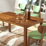 Cafe (HW-106-1T)のための方法Wooden Dining Table