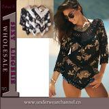 Premier dessus de Beachwear de modèle de femmes neufs sexy de mode (TKYA753)