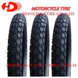 Neumático de la motocicleta/venta caliente del neumático 3.00-17 de la motocicleta