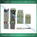 De aangepaste RubberDrukknop van het Silicone van de Controle van TV