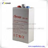 Batterie tubulaire 2V250ah de gel d'Opzv avec 25 ans de vie