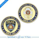 Изготовленный на заказ монетка армии военной полиции золота США для сувенира