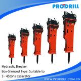 Гидровлическое Excavator Concrete Rock Road Breaker Hammer с Chisel