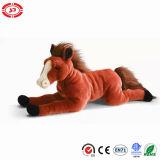 Brinquedo animal enchido de encontro do presente do cavalo do luxuoso macio super de ASTM