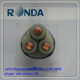 Innen- und im Freien 185 Sqmm 12kv kupfernes elektrisches kabel