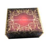 Contenitore di carta piegante cosmetico di regalo del cartone con il nastro interno