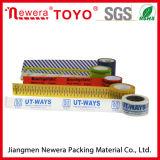 Impresión de Marcas de BOPP acrílico goma de la cinta adhesiva de embalaje