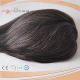 Toupee delantero atado mano completa del pedazo del pelo del cordón de Dyeable del pelo humano