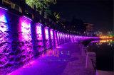 18/24/36 Wand-Unterlegscheibe-Licht RGB-im Freien LED imprägniern