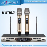 Micrófono Pll-Sintetizado sin hilos audio de la frecuencia ultraelevada de Karaok