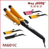 M601c Got Timer Function Professional Triple Barrel Hair Curling Iron