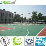 Het Materiaal van de Bevloering van het Hof van het Basketbal van de enig-component Pu