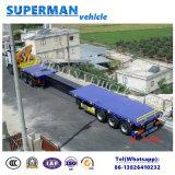 重い貨物のための適用範囲が広く実用的なトラックのトレーラー