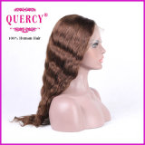 La parrucca brasiliana della parte anteriore del merletto per le donne con i capelli del bambino, ondulata, può tingersi