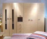 Garde-robe modèle alumineuse de panneau de porte de Sutter/Almirah/jeu de chambre à coucher