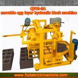 Bloc creux concret d'oeufs de ciment plein mobile de couche faisant la machine