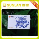 Cartão magnético em branco sem contato Ntag216 do PVC de NFC