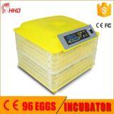 Hhd 최고 가격 승인되는 판매 (YZ-96A) 세륨을%s 가득 차있는 자동적인 계란 부화기