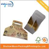 Caja de embalaje de la venta de la fábrica de la botella de encargo caliente de la manija (QY150014)
