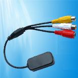 Micrófono de la vigilancia del CCTV para la pequeña alta sensibilidad del sistema de seguridad (CM20)