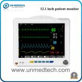 Moniteur patient de 12.1 paramètres de pouce six avec la surface adjacente neuve (Un-8000s)