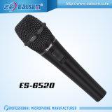 Nuovo disegno di Ealsem Es-6520 con il microfono di condensatore di canto del calcolatore della batteria