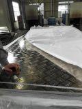 Piatto Checkered laminato a caldo di alluminio (5052)